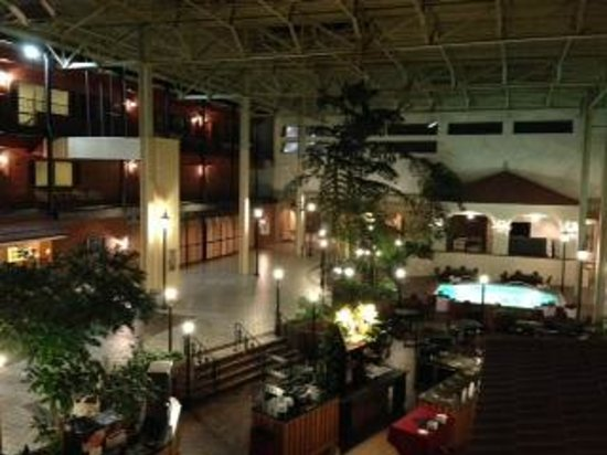 Ramada Topeka Downtown Hotel and Convention Center: Ramada's indoor courtyard