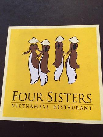 Four Sisters Restaurant : Menu