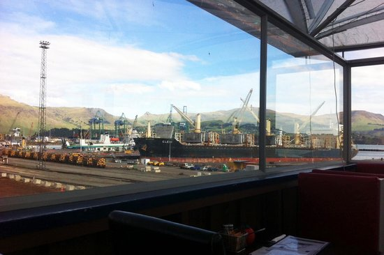 Fisherman's Wharf Lyttelton: just a small portion of all the views