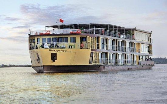 Tien Giang Province, เวียดนาม: Mekong Prestige ship
