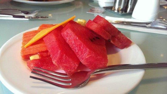 Davis Bangkok: Breakfast from the buffet