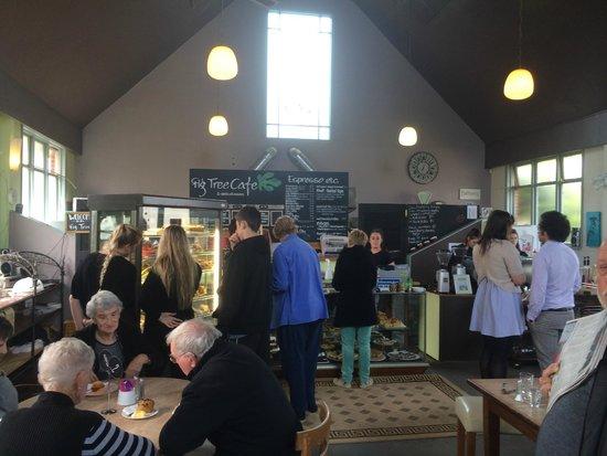 Fig Tree Cafe Upper Hutt: Cafe interior
