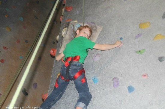 Hangdog Climbing Gym: Our youngest is a climber so this is the perfect place