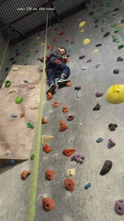 Hangdog Climbing Gym: Our son loves Hangdog
