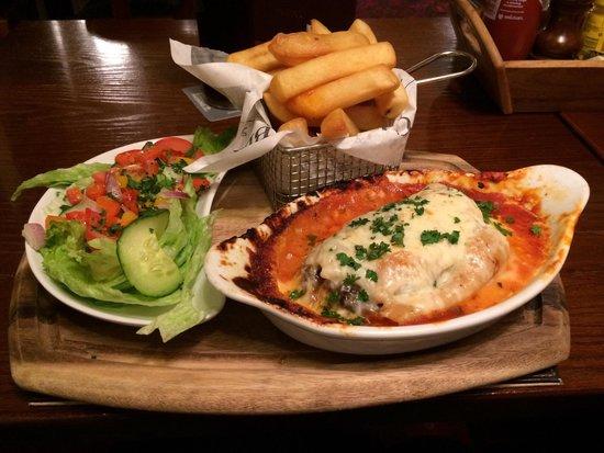 The Gateway Inn: Good pub grub