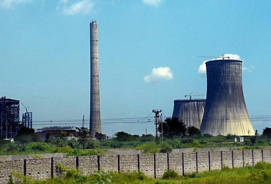 Chandrapur, Indien: Chanda power staion