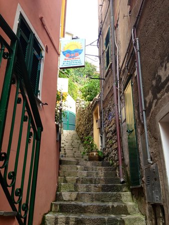 B&B SoleMare: Stairway to the lovely B&B
