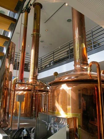 Brauhaus Goldener Engel: Brew kettles