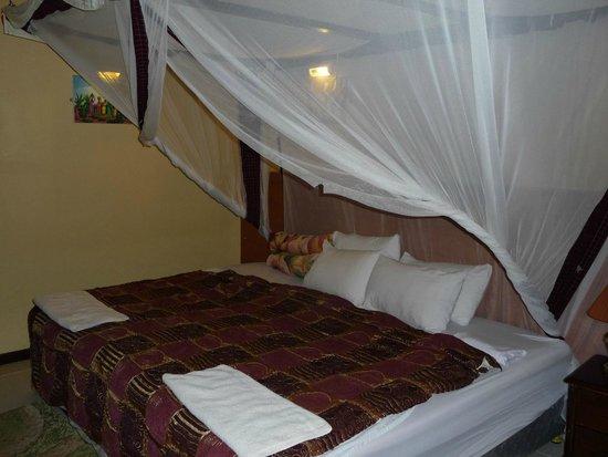 Highview Hotel: Moskitonetz vorhanden