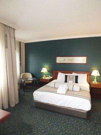 Grand Cevahir Hotel and Convention Center: Спальня в номере