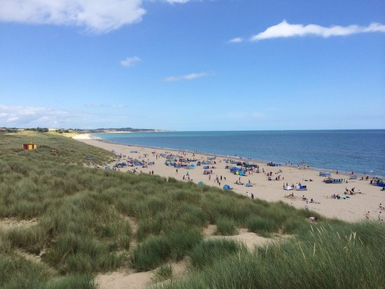 Curracloe Beach: View from the sand dunes
