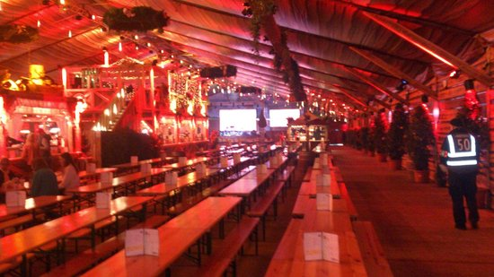 Winter Wonderland: 7pm this place is packed and pumping