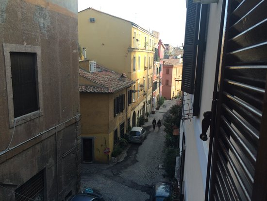 Casa Campo de' Fiori : Udsigten fra lejligheden