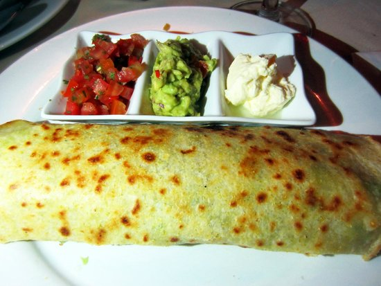 V Cafe (Restaurant/Bar/Live Music): Big beef soft taco