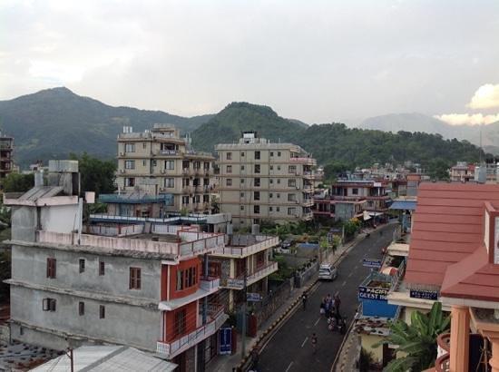 Hotel Fewa Holiday Inn: from balcony