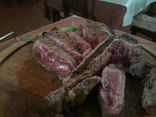 Le Cave di Maiano : bistecca da favola!