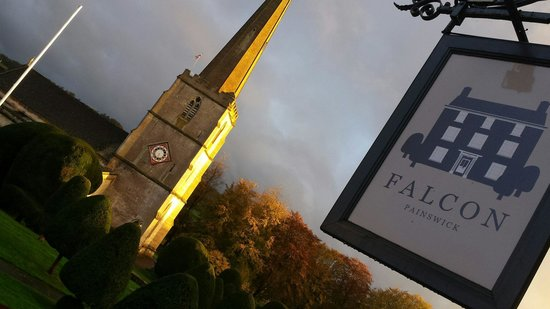 Falcon Inn: Church opposite