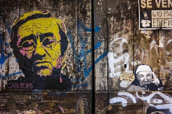 Casco Antiguo: А еще много граффити и стри-арта