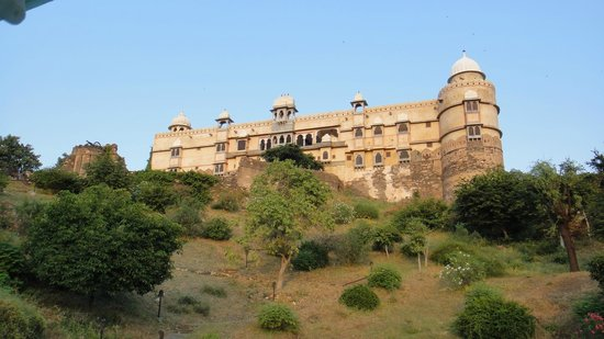 Karni Fort Bambora : From pool