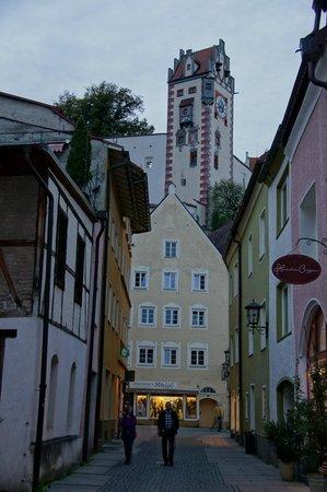 Altstadt von Fuessen: magico lugar