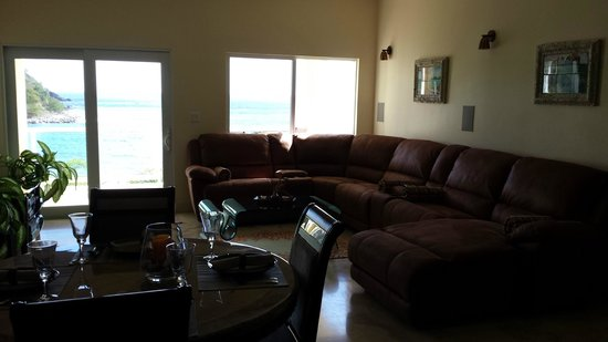 Sea Shore Allure: 2BR living
