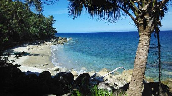 Tuko Beach Resort: Resort private beach