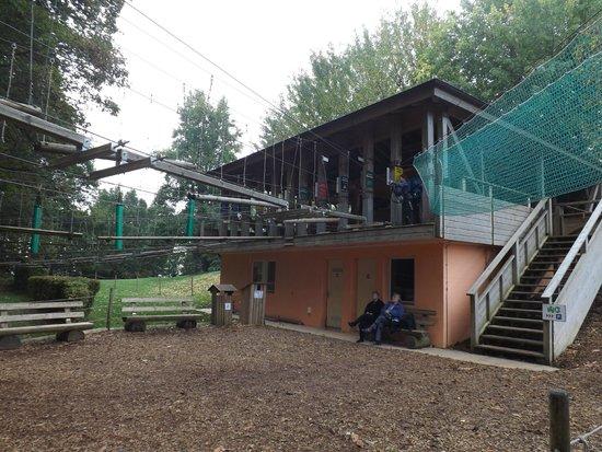 Signal de Bougy Pre Vert Park : Start of the climbs