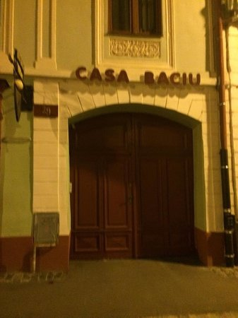 Casa Baciu from the street