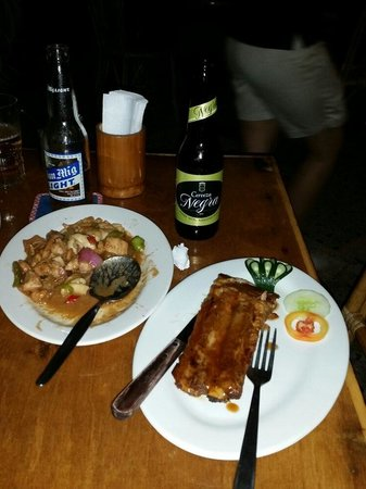 Kinabuch Grill & Bar: Laing. Baby rack ribs