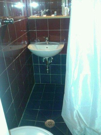 Bagno piccolissimo e privo di piatto doccia con scarico - Bagno piccolissimo in camera ...