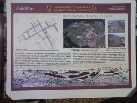 Thesprotia Region, Griechenland: Info Boards