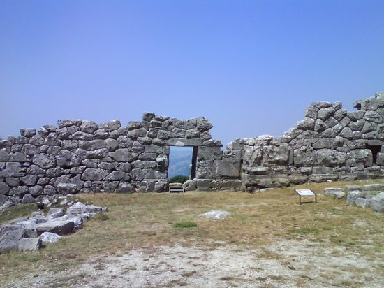 Thesprotia Region, Griechenland: Walls and Entrance