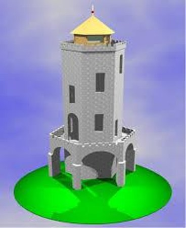 Jubilee Tower: Darwen Tower in CAD