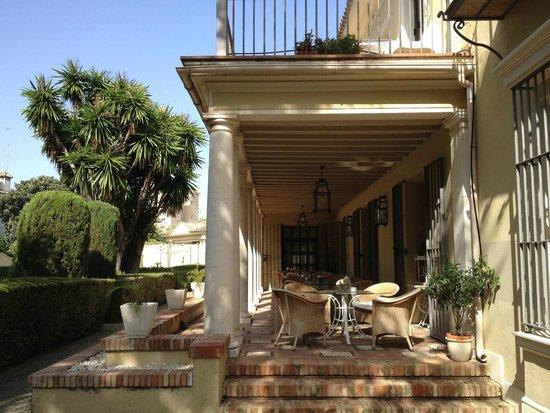 Hotel Villa Jerez: Hier kann man gemütlich speisen