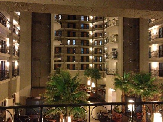 Hyatt Regency Green Bay : view from room (all indoors)