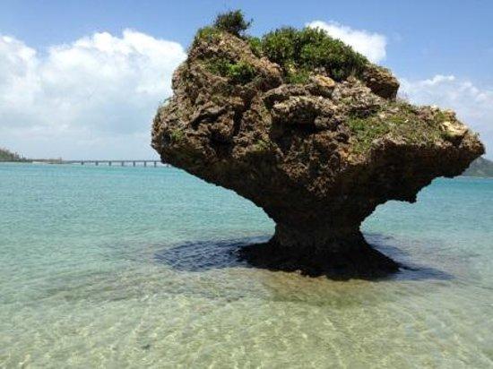 アマミチューの墓前 - Picture of Hamahiga-jima Island, Uruma ...