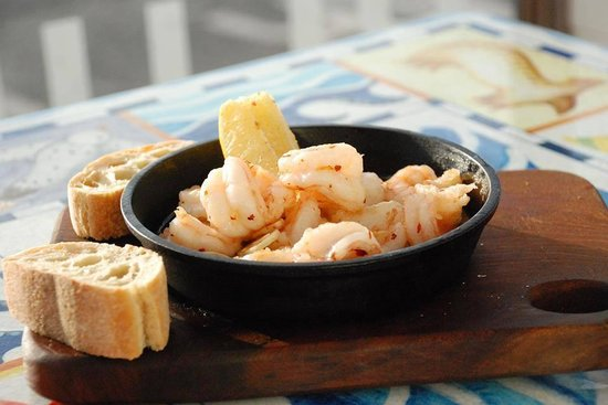 Blue Bar: Gambas Pil Pil