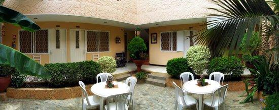 Hotel Casa D'mer Taganga : Patio interior primer piso