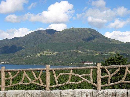Hakone Pass Tourist Information (Michi-no-Eki): 景色です。
