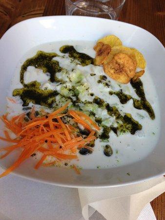 Saline Ceviche Bar : ceviche au cabillaud et lait de coco