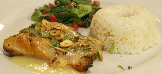 Qanela Restaurante : Trucha!