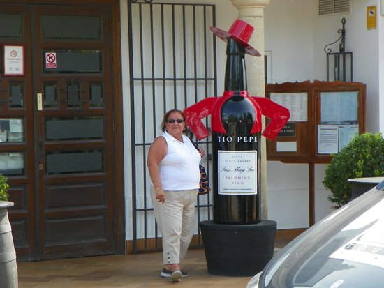 Venta Esteban: Wine not this size