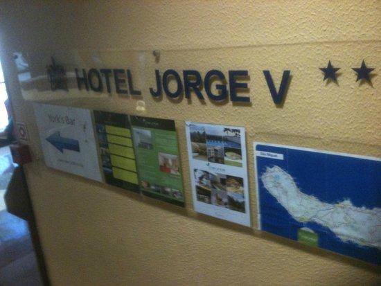Hotel Jorge V: Hotel foyer