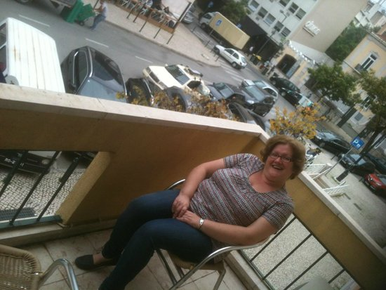 Hotel Jorge V: balcony