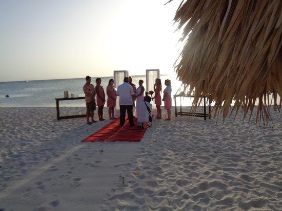 Holiday Inn Resort Aruba Beach Just Married