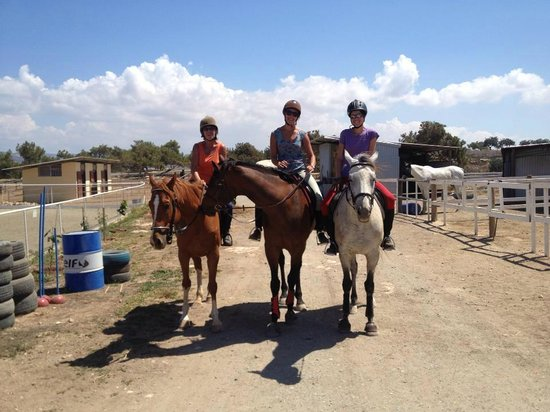 Pissouri, Cyprus: Out for a hack