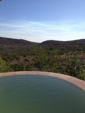 andBeyond Phinda Rock Lodge: View from private pool