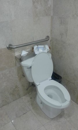Holiday Inn Express Cd. de Mexico Santa Fe: Mire lo higiénico y practico de este baña