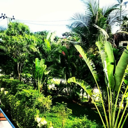 Beach Republic The Residences: Beautiful garden view from Club Suite
