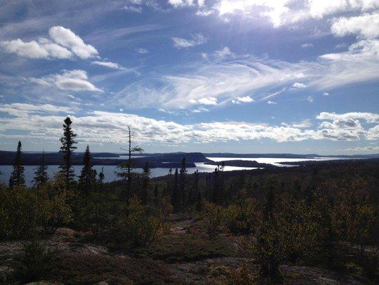 Trans Canada Trail: view